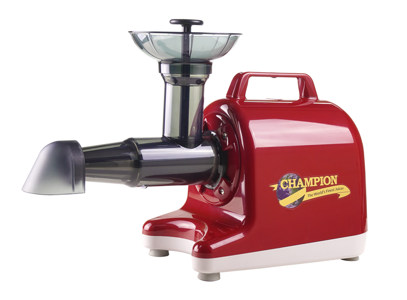 Champion 4000 Juicer - Red