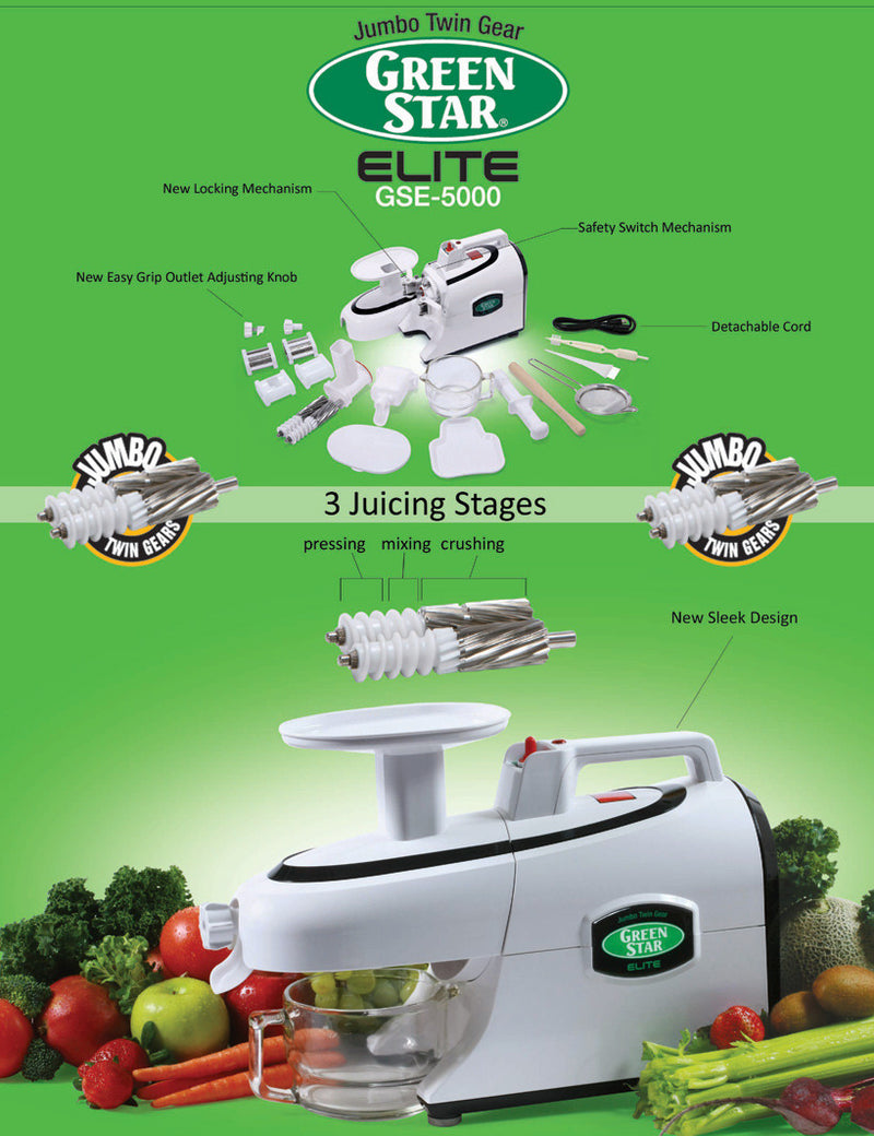 Green Star Elite 5000 Juicer Overview