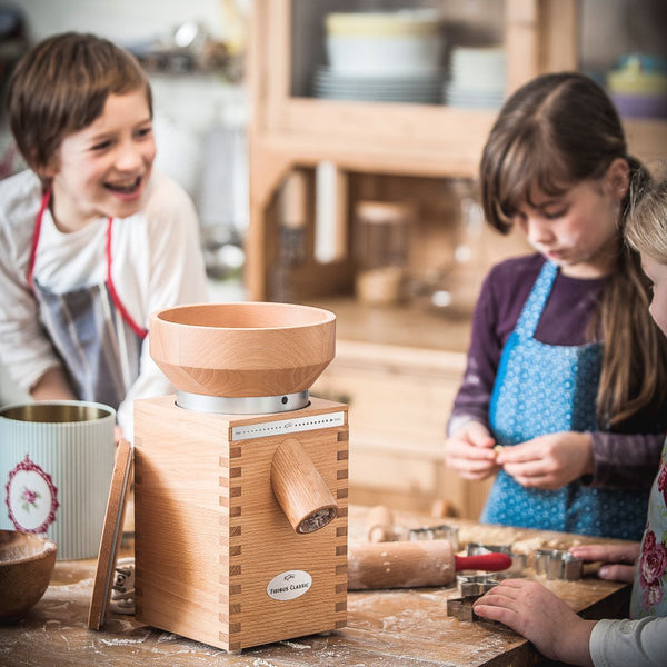 Healthy Baking With Fidibus Classic Grain Mill