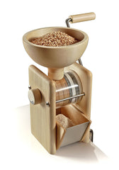 KoMo Hand Crank Mill, Maple Wood & Stainless Steel