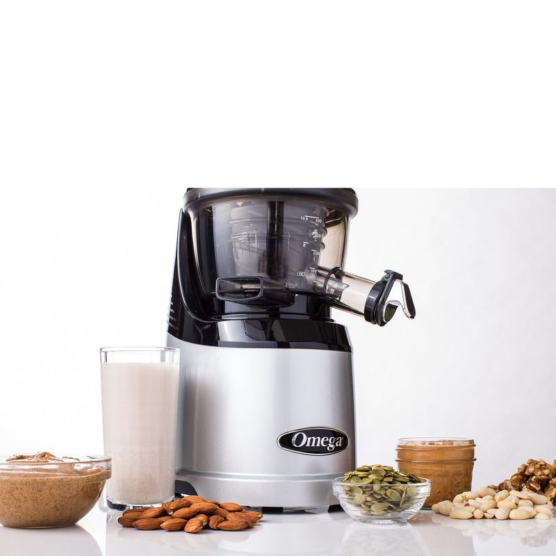Omega MMV700S MegaMouth Juicer Nut Milk Maker