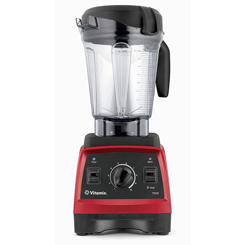 Vitamix 7500 Blender - Low Profile Jar - Red