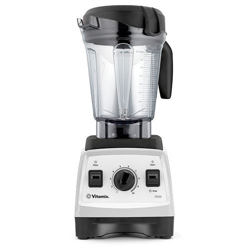 Vitamix 7500 Blender - Low Profile Jar - White