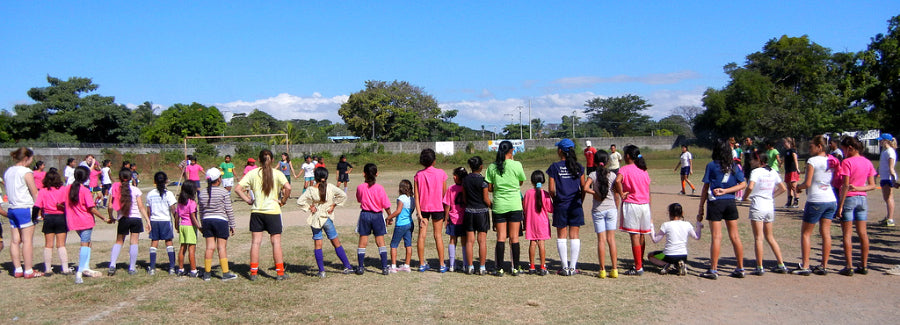 Activyst gym bags fund Soccer Without Borders