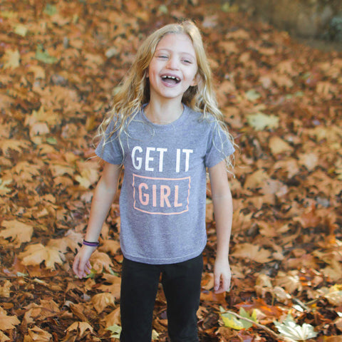 Get It Girl Kids Tee
