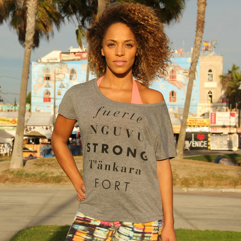 Strong Without Borders Tee