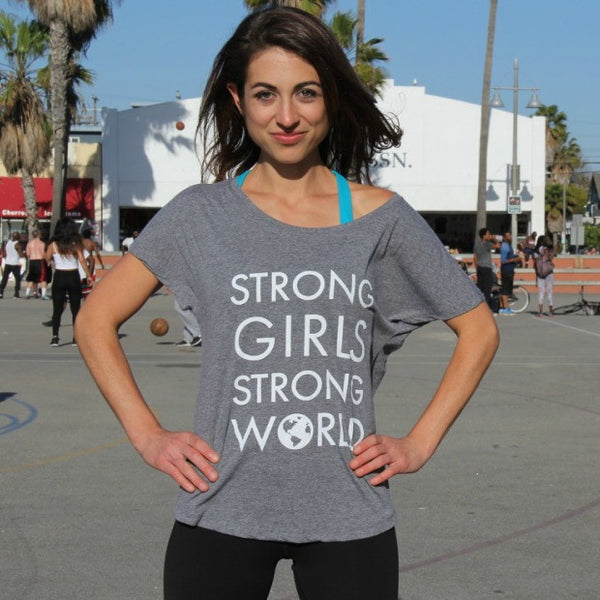 Strong Girls Strong World Tee