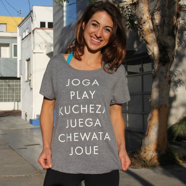 Play Around the World Tee