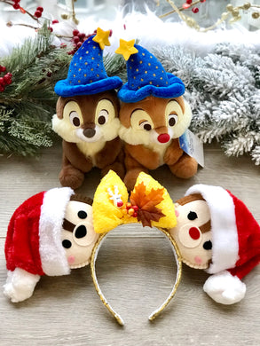 SANTA CHIP AND DALE