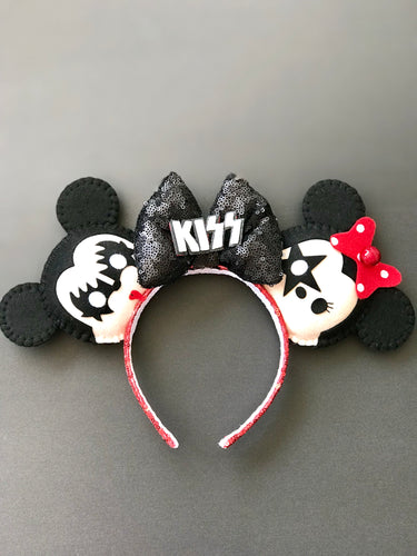 AUCTION KISS BAND MICKEY/MINNIE