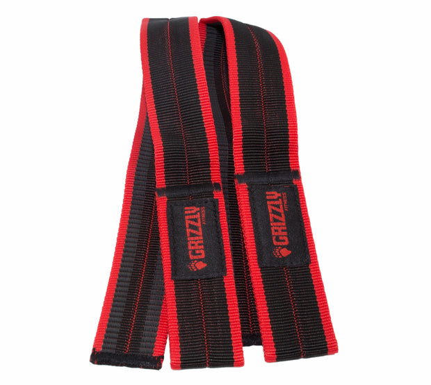 Grizzly Fitness Super Grip Deluxe Pro Weight Lifting Straps for Men and Women (One-Size Pair)