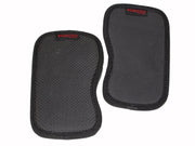 Grizzly Fitness Contoured Neoprene Weight Lifting Grab Pads for Men and Women (One-Size Pair)