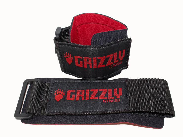 Grizzly Fitness Pro Power Weight Training Wrist Wraps for Men and Women (One-Size Pair)