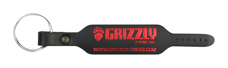 Grizzly Belt Key Chain