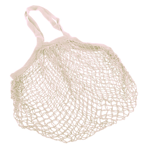 Sachi Cotton String Bag Long Handle - Natural