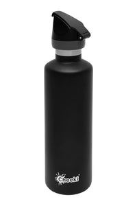 Cheeki 600ml Active Insulated Bottle - Matte Black