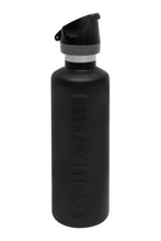 Load image into Gallery viewer, Cheeki 600ml Active Insulated Bottle - Matte Black