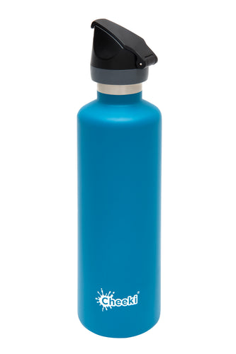 Cheeki 600ml Active Insulated Bottle - Topaz