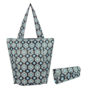 Sachi Insulated Market Tote - Black Medallion