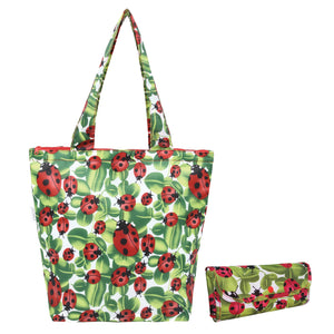 Sachi Insulated Market Tote - Lady Bug