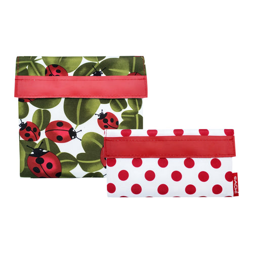 Sachi Lunch Pocket Set of 2 - Lady Bug