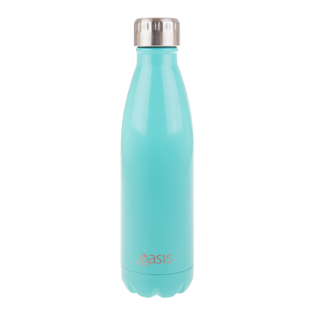 Oasis Stainless Steel Insulated Water Bottle 500ml - Spearmint