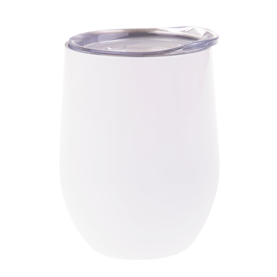 Oasis Insulated Wine Tumbler 330ml - White