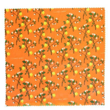 Load image into Gallery viewer, LilyBee Wraps - Mediterranean Lemons Large Single