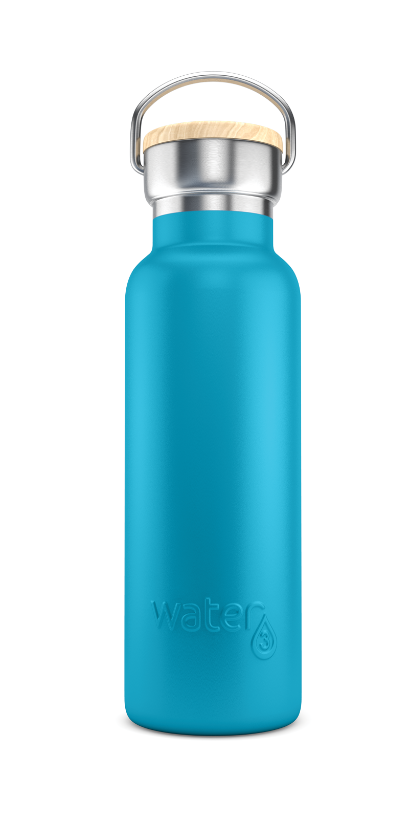 Water3 500ml Stainless Steel Insulated Bottle - Bells Blue