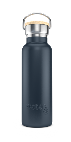 Water3 500ml Stainless Steel Insulated Bottle - Bondi Black