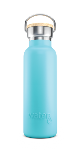 Water3 500ml Stainless Steel Insulated Bottle - Byron Blue