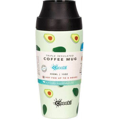 Cheeki 450ml Coffee Mug - Avocado