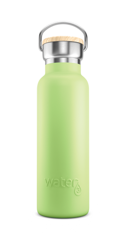 Water3 500ml Stainless Steel Insulated Bottle - Great Ocean Green