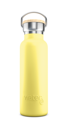 Water3 500ml Stainless Steel Insulated Bottle - Lizard Island Lemon