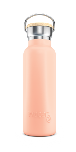 Water3 500ml Stainless Steel Insulated Bottle - Palm Island Peach