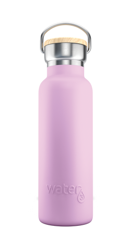 Water3 500ml Stainless Steel Insulated Bottle - Palmy Purple