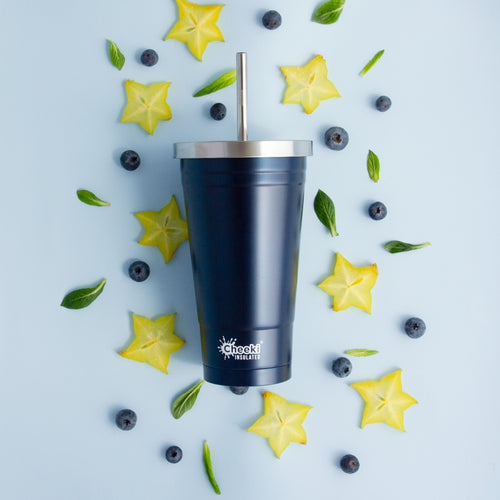 Cheeki 500ml Insulated Tumbler - Ocean