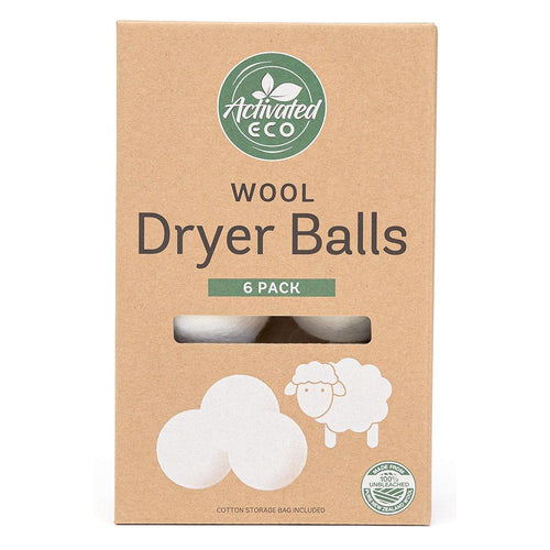 Activated Eco Wool Dryer Balls