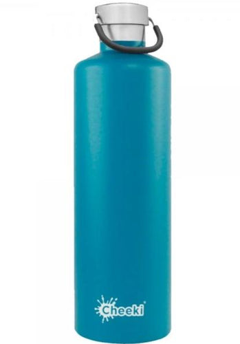 Cheeki 1 Litre Insulated Bottle - Topaz