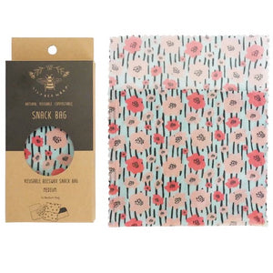 LilyBee Wraps - Medium Snack Bag Spring Fling