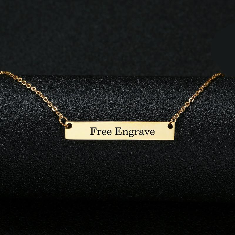 Personalised Box Name Necklace