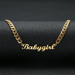 Chain Name Necklace