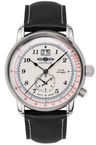 Zeppelin Los Angeles dual time 8644-1 - Barresi Cremona