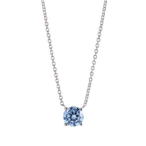 FREELIGHT DIAMOND COLLANA PUNTO LUCE BLU CLB2904P26 CT 0,26  VS1