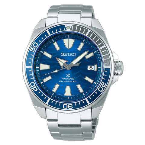 SEIKO PROSPEX SAMURAI SRPD23K1 SAVE THE OCEAN