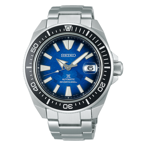 SEIKO PROSPEX SAMURAI SRPE33K1 SAVE THE OCEAN
