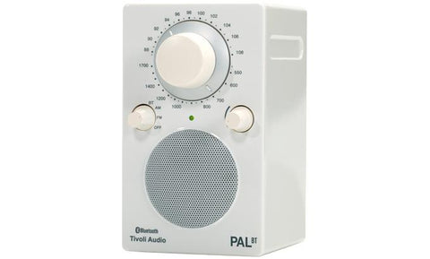 Tivoli Audio PAL Bluetooth glossy White - Barresi Cremona