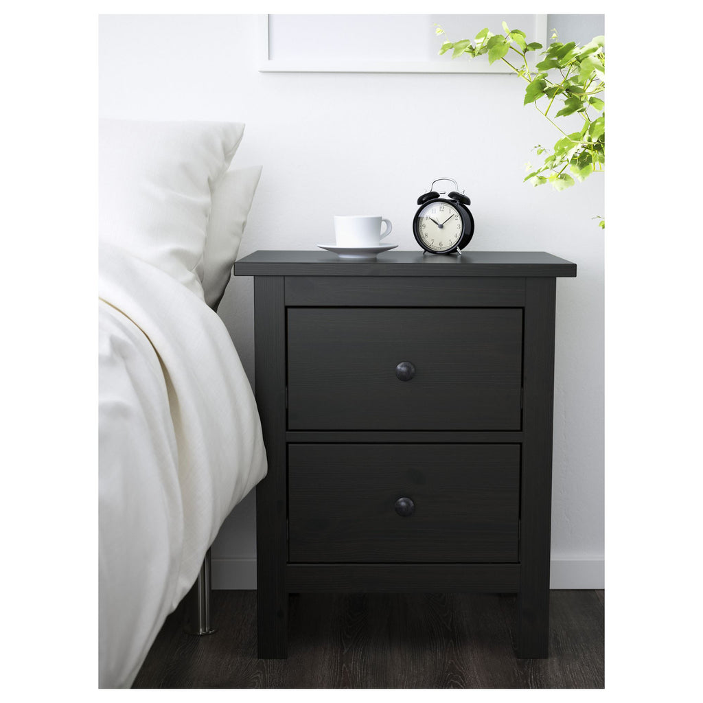 Hemnes Chest Of 2 Drawers Bedside Table