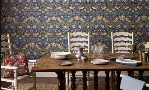 Strawberry Thief Wallpaper Gaudion Furniture