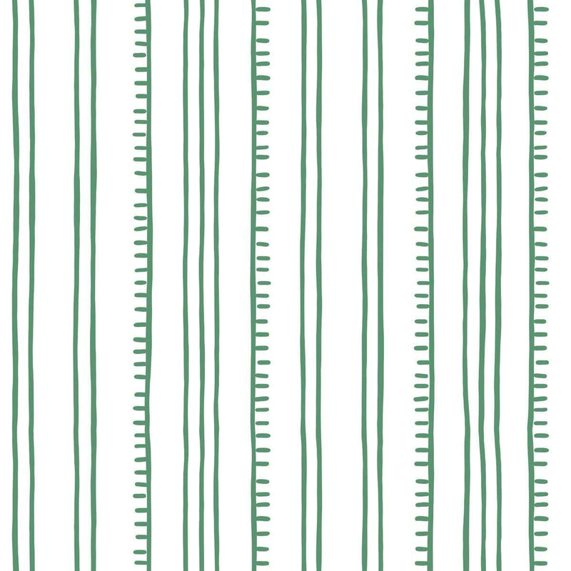 Anna Spiro Wallpaper 1 x Green Higgledy Piggledy Stripe Wallpaper Roll Anna Spiro Higgledy Piggledy Stripe Wallpaper 5 colours